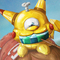 'Golden memories' Pikachu/Magnemite