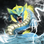 Gyarados + Jolteon (Joltos) Final by ItzNyx