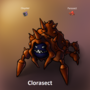 Cloyster + Parasect = Clorasect