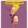 Beavis and Cutt-head by mariotheartistbiz