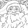 Santa Lineart