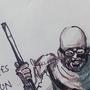 Inktober 5 Gandhi Ressurected by hreyas