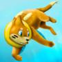 Buizel takes a swim by Littlepinkmonkey