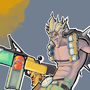 Junkrat(with Speedpaint) by Kakiusko