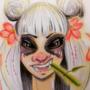 Panda Eyes by ArtByDare