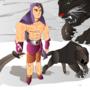 Hero and Pet Contest by AdiMATRIX