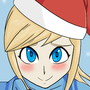 Christmas Samus by Plazmix