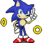 Sonic the hedgehog Pixel Art by XxARNOZIxX