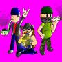 Jay, Val, and MTC Smokin' Up by TheCriminalDuder