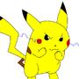 Pikachu Use Thundershock by masterTUTA99