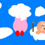 Kirby dreamland 2 bubbly cloud by funnykirby