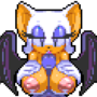 Rouge Sprite (Updated) by HotRed820