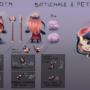 C.O.T.M - Hero&Pet Design by YorieOfTheCastle