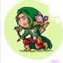 Bow, arrow, monkey by Agus-S