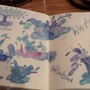 STOP MOTION DRAWN BY HAND, SPLASHING FUN WITH WATER by DeeDeeMcGovern