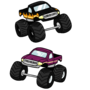 Monster trucks by TheIYouMe