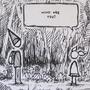 Pilgrim's Encounter - Sketch by maanu40