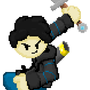 YT Thumbnail Side Character With Sword by XxARNOZIxX