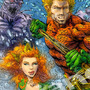 Aquaman & Mera by AleBorgo