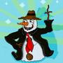 A Jolly Snowman :) by BigMike1996