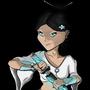 Yanmei and Her Spirit Fox by LukeWarmCalder