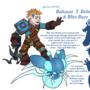 "Baltasar ""Thunder"" Bolter and Blitz-Buzz. by LazerJay"