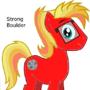 "My MLP OC Vector - ""Strong Boulder"" by AeroRanger100"