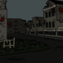 Ghost Town Background by JRCviews
