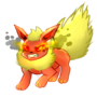 Angry Flareon