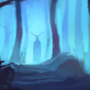 Haunted Forest - speedpaint