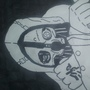 Hand Drawn - Dishonored Corvo by FlamingIceCubeNG