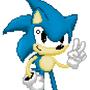 Classic Sonic From YT SpeedPaint by XxARNOZIxX