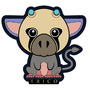 Sticker Trico by Xavy-027