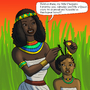 Little Cleopatra and Momma by BrandonP