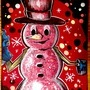 Dad's Snowman by BeKoe