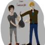 Callum and aaron by Fatimathegeek