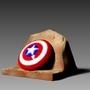 Captain America Shield Fanart by cvillart