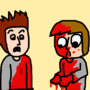 Accidental stabbing by NLindgren