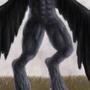 Werewolf bird by MasOden