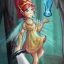 Aurora - Child of Light Fan Art by iQ-Hunter