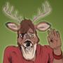 [TRADE] - Shy Deer by Bludermaus