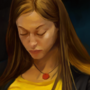 Random girl from the Czech Republic train | Krita 3.1 by MartsArt