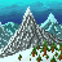 Snowy Mountain Range by masdar1