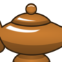 Bronze Magic Lamp by Makatoons
