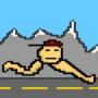 Running Boy by CandyCornBoyz