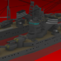 Heavy Cruiser Suzuya by zrgyu