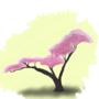 Blossoming Tree by CuteKitten