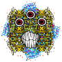 Psychedelic Monster Head by Zootownboy
