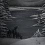 Winter by JoannaChlopek