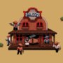Pixel Western by clampunk